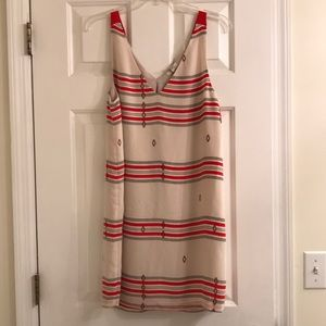 Joie Aztec print dress